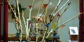 mariposas en el árbol